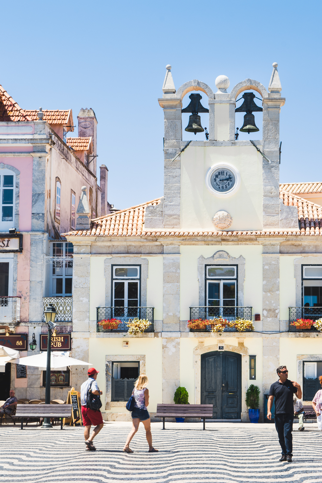 Center of Cascais Portugal in the Summer