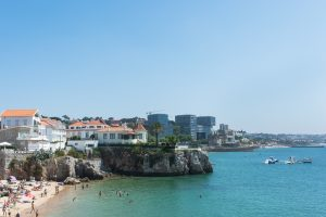 Queen's Beach in Cascais Portugal