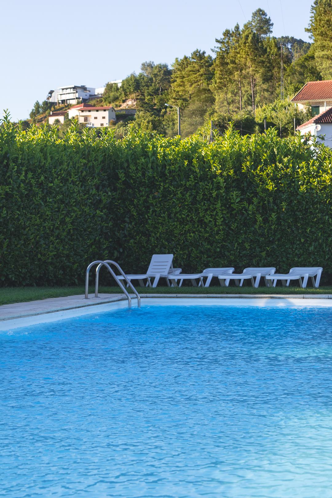 Poolside in Geres Portugal