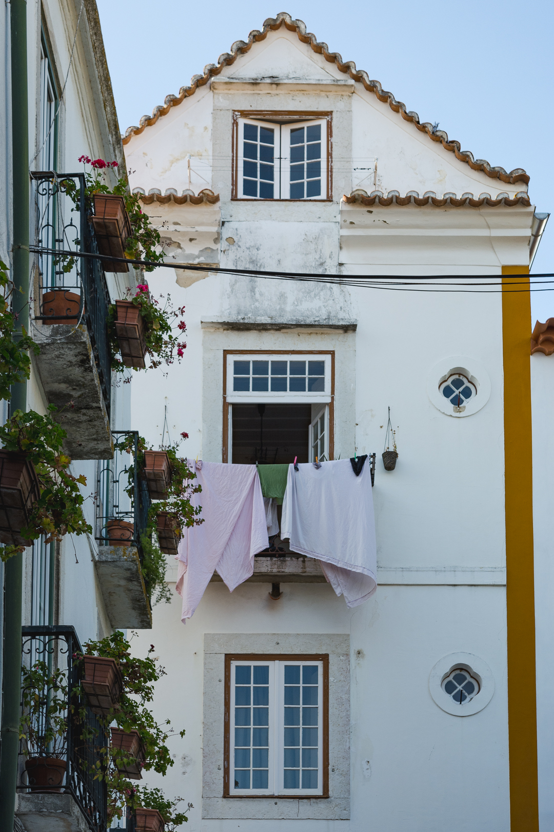 Typical charming house in Lisbon Portugal