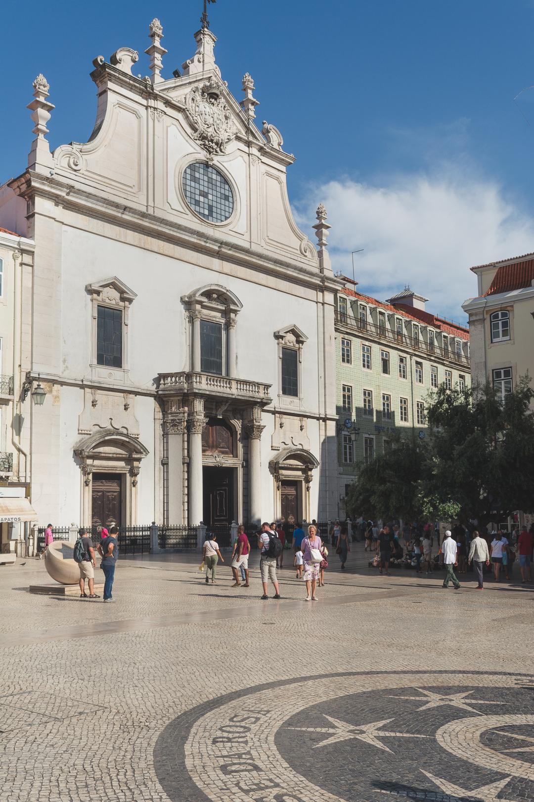 Sao Domingos Church in Lisbon Portugal