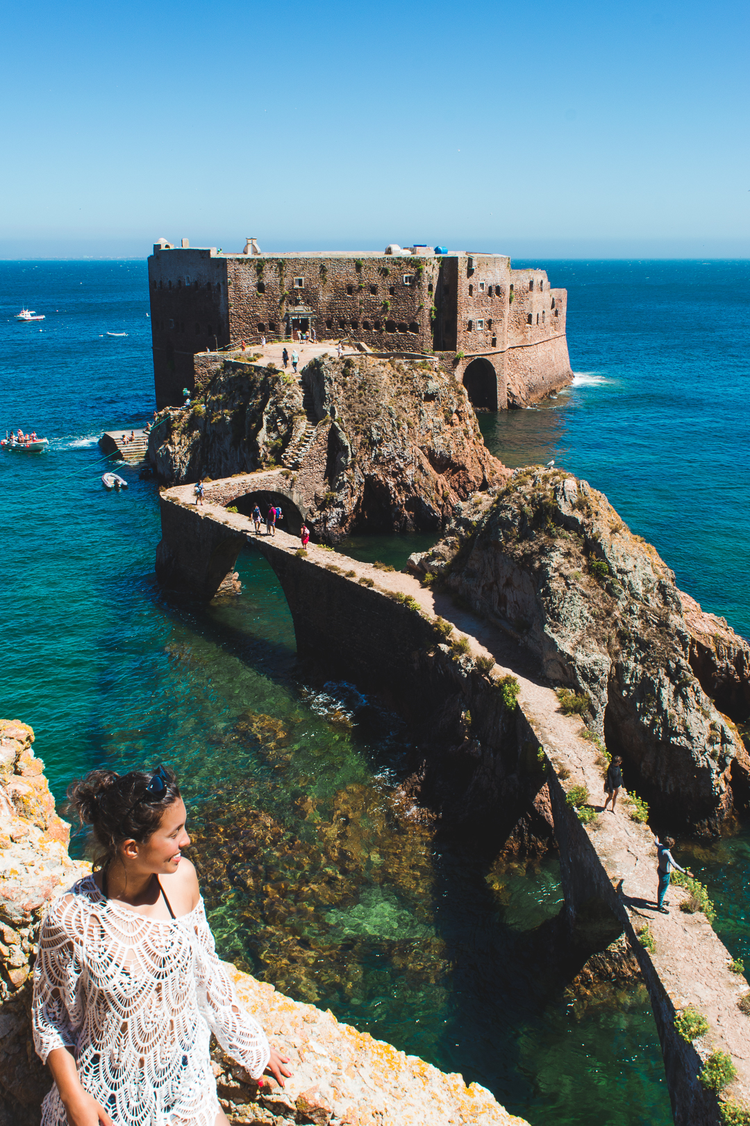 St John the Baptist Fort in Berlengas Portugal