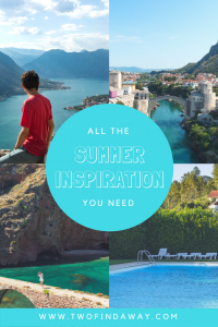 Looking for ideas for your next trip? Here you can find all the Summer inspiration you need by taking a look at what we did on our last Summer holidays.