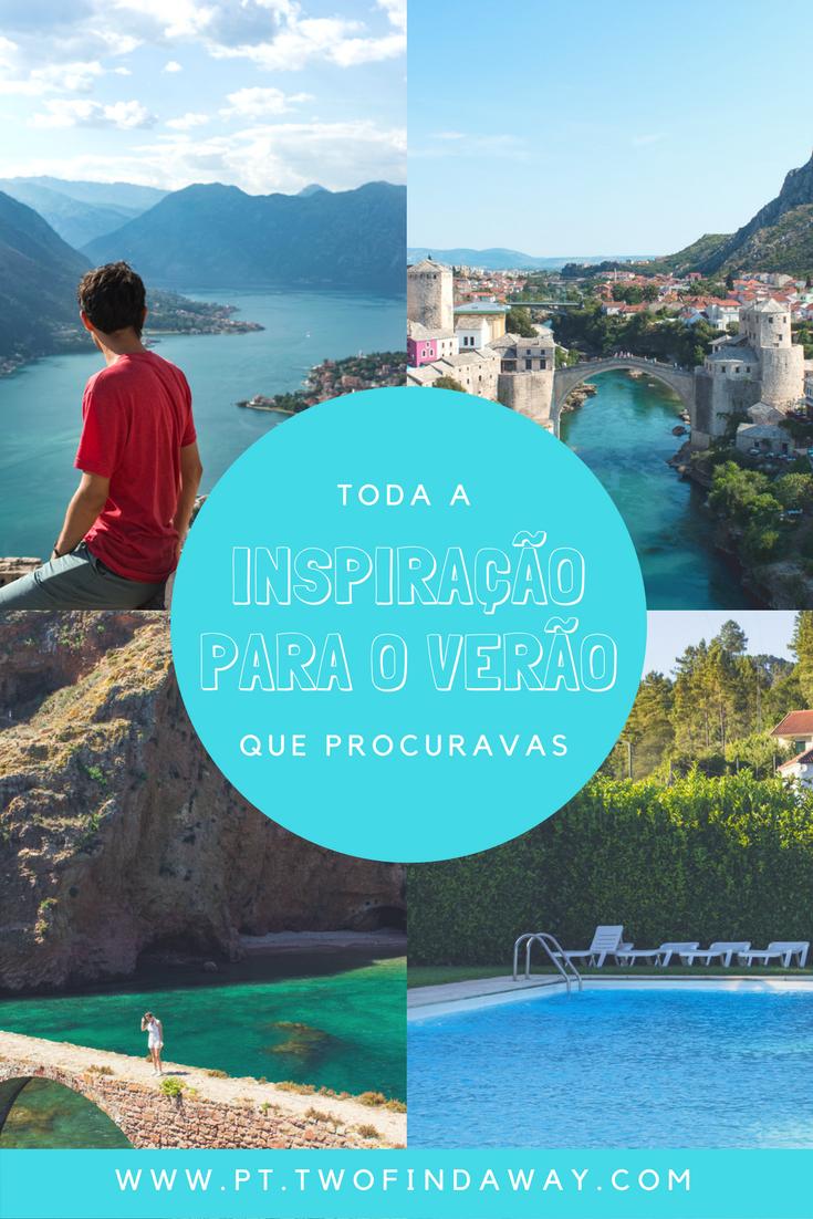 À procura de ideias para as próximas férias? Este post está recheado de inspiração do que visitar com base nas nossas últimas férias de Verão!