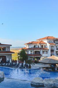 Pool of Resort in Aheloy Bulgaria