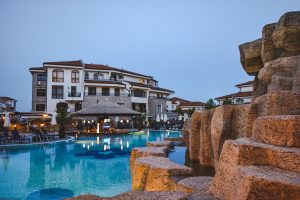 Piscina do Resort em Aheloy, Bulgaria