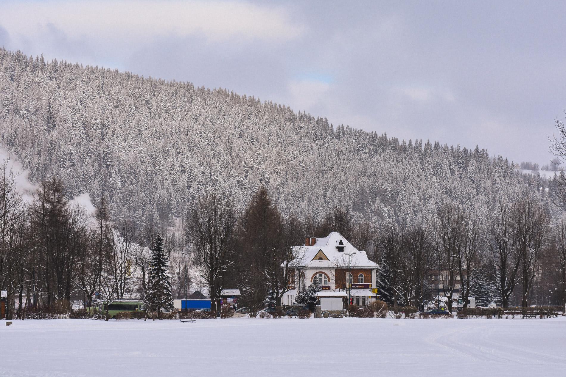 Esta pequena cidade no sul da Polónia está rodeada de montanhas
