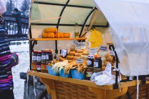 O queijo é uma das muitas delícias polacas a provar em Zakopane
