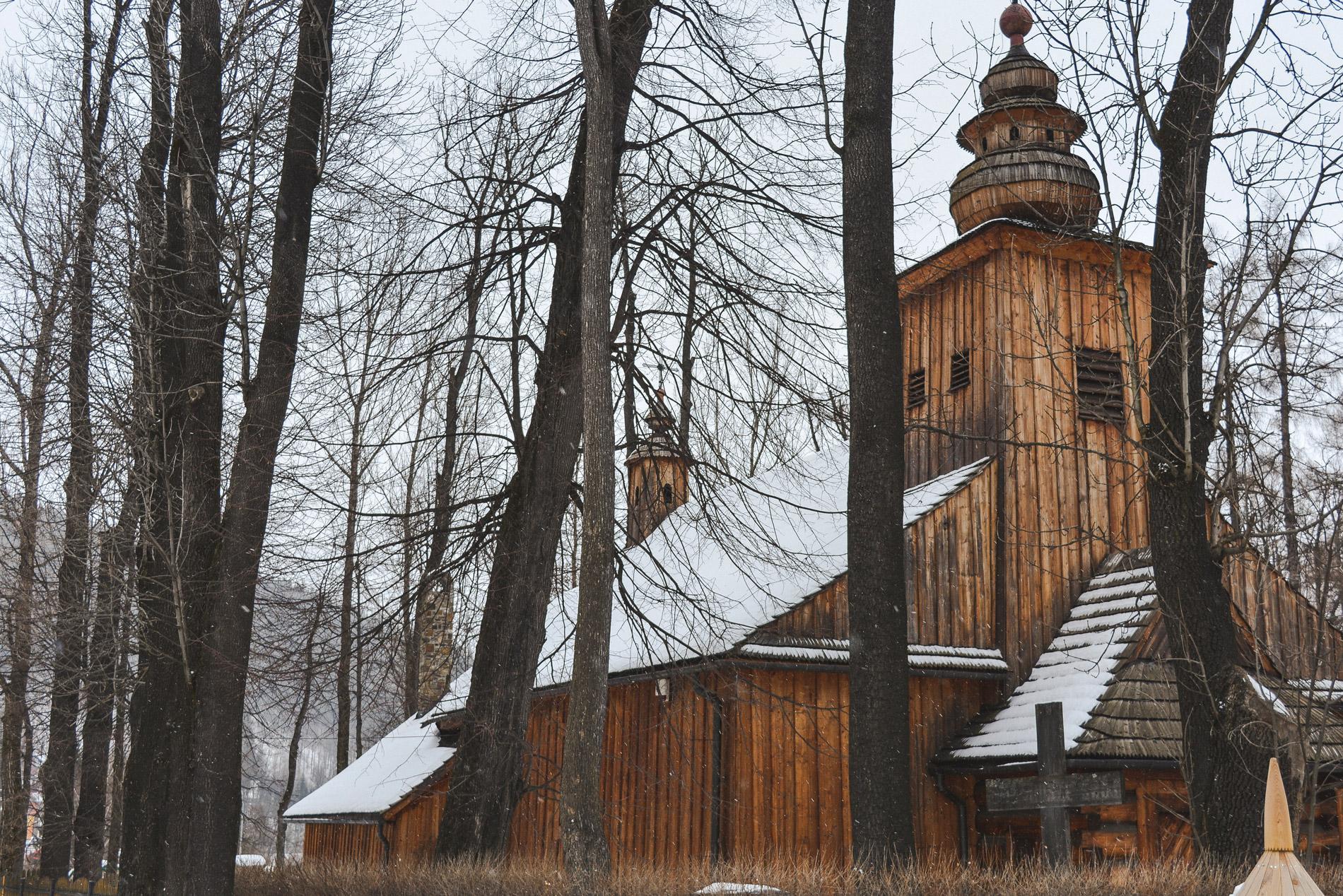 A Igreja de São Clemente é a mais velha de Zakopane
