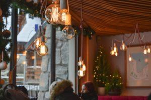 Café encantador em Zakopane