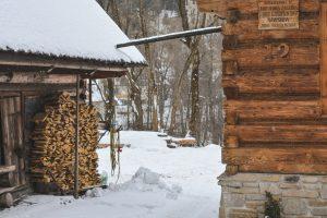 Cena típica de Inverno no Sul da Polónia