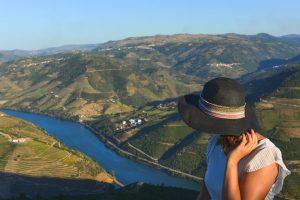 Magnifico miradouro de Casal de Loivos no Douro em Portugal