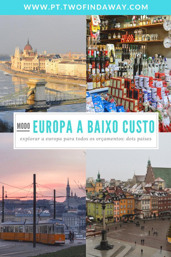 Viajar na Polónia e na Hungria é possível sem gastar muito dinheiro. Vejam exatamente quanto gastamos na nossa viagem de dez dias pelos dois países.