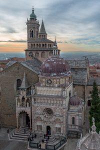 Viagens de Inverno: A Catedral de Bergamo, no Norte de Itália