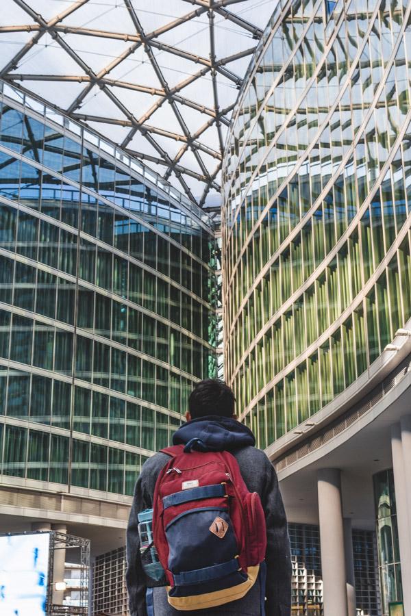 Milão é uma cidade recheada de arquitetura memorável