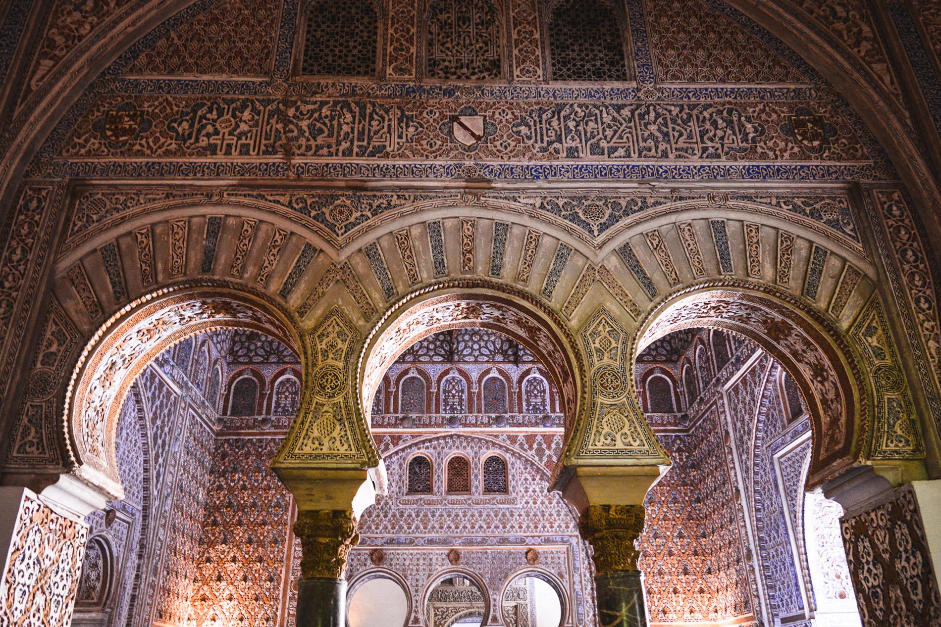 Detalhes como este fazem do Alcázar uma das atrações mais visitadas em Espanha