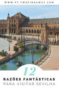 Sevilha é uma das cidades mais bonitas do Mundo, e de visita obrigatória para todos os que adoram viajar! Neste artigo partilhamos 12 razões que vos vão deixar desejosos de ir e as atrações em Sevilha que não podem perder.