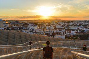 O Metrosol Parasol é uma das atrações mais recentes em Sevilha