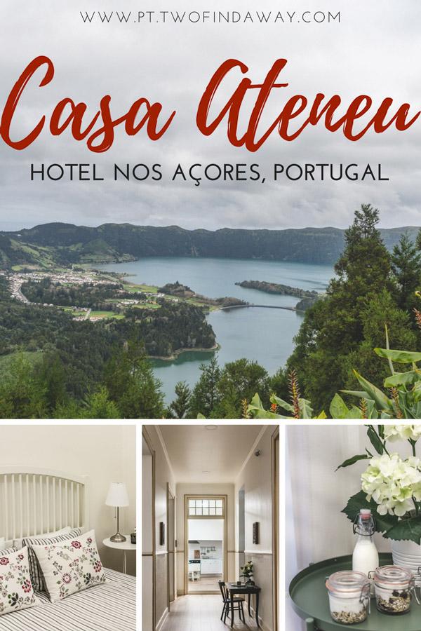 À procura de um hotel em Ponta Delgada? A Casa Ateneu pode ser a opção perfeita! Neste artigo contamos tudo sobre a nossa experiência neste encantador hotel localizado na maravilhosa ilha de São Miguel nos Açores, em Portugal.