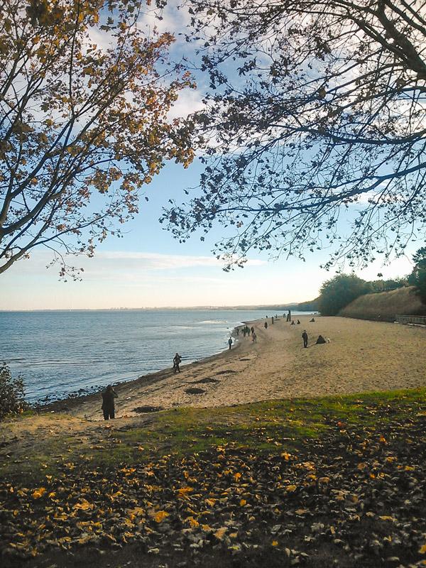 Praia em Gdynia