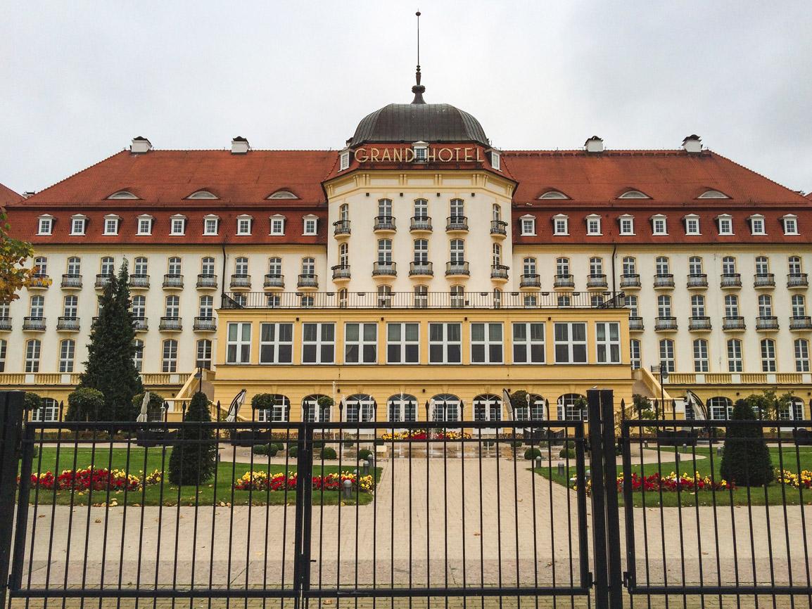 Grand Hotel em Sopot na Polónia