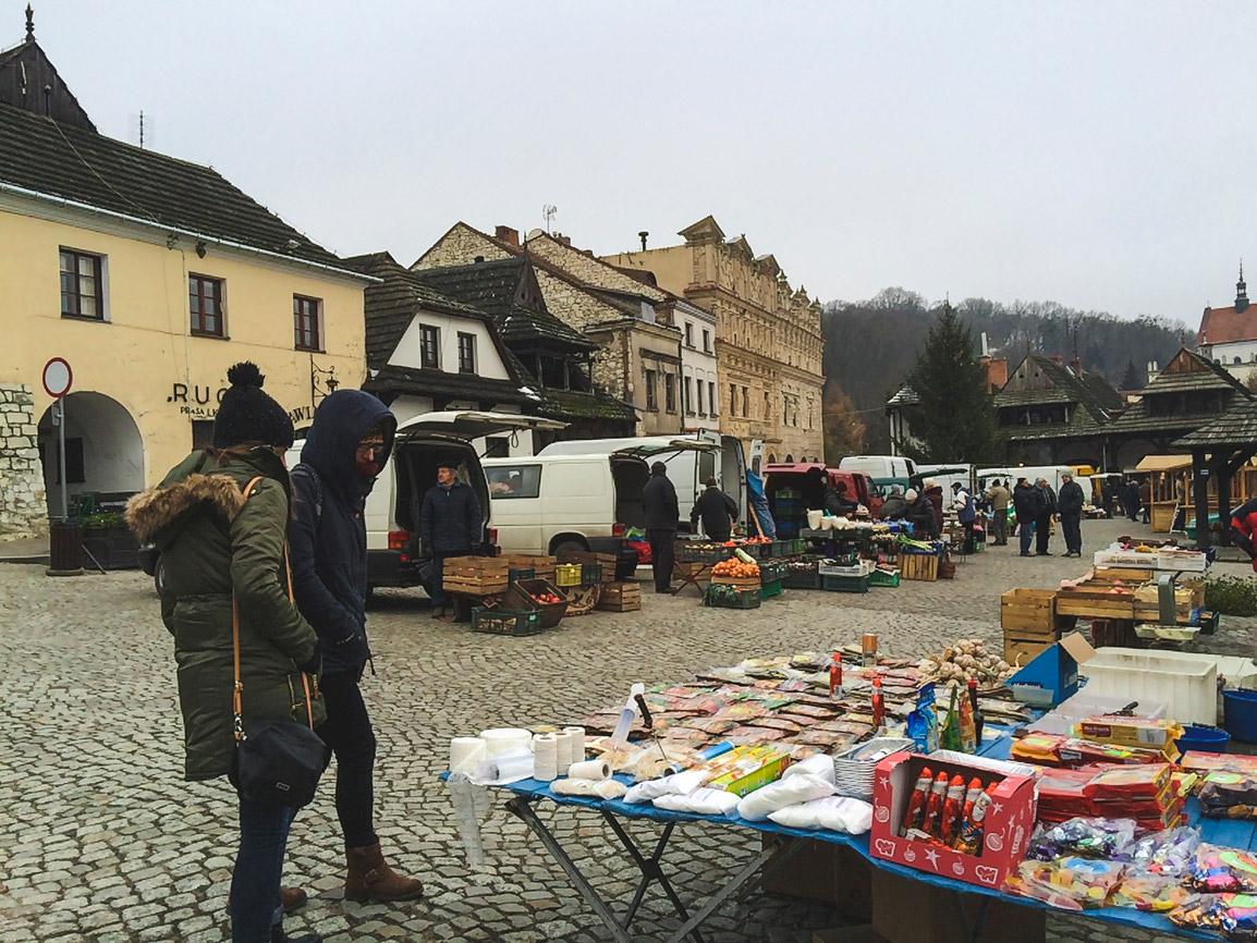 Mercado em Kazimierz Dolny