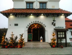 Restaurante em Kazimierz Dolny na Polónia