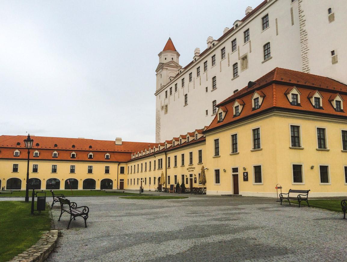 Castelo de Bratislava uma das principais atrações da cidade