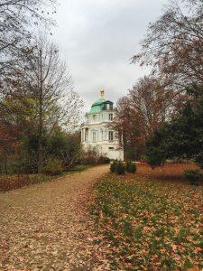 Encantador Belvedere no Palácio de Charlottenburg em Berlim