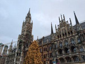 Marienplatz a praça principal de Munique