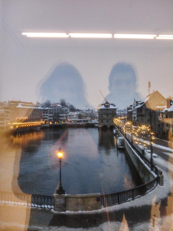 Reflexões num museu em Zurique