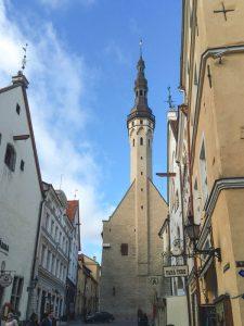Cidade velha de Tallinn