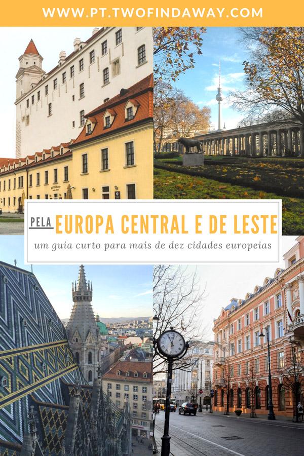 Europa: um continente cheio de lugares magníficos a explorar! Este artigo é dedicado a várias cidades a visitar no Centro e Leste Europeu! Acreditam, há muito para verem e conhecerem!