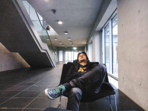 Rui a dormir num museu em Berlim