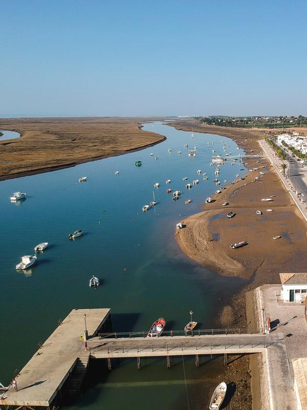 Porto de Santa Luzia no Algarve