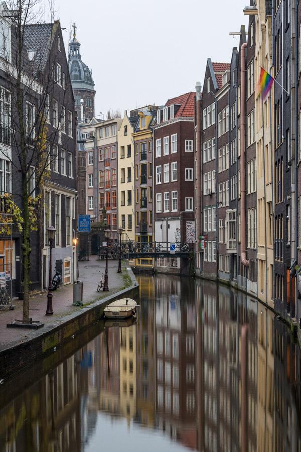Acordar cedo é uma das coisas a fazer em Amesterdão