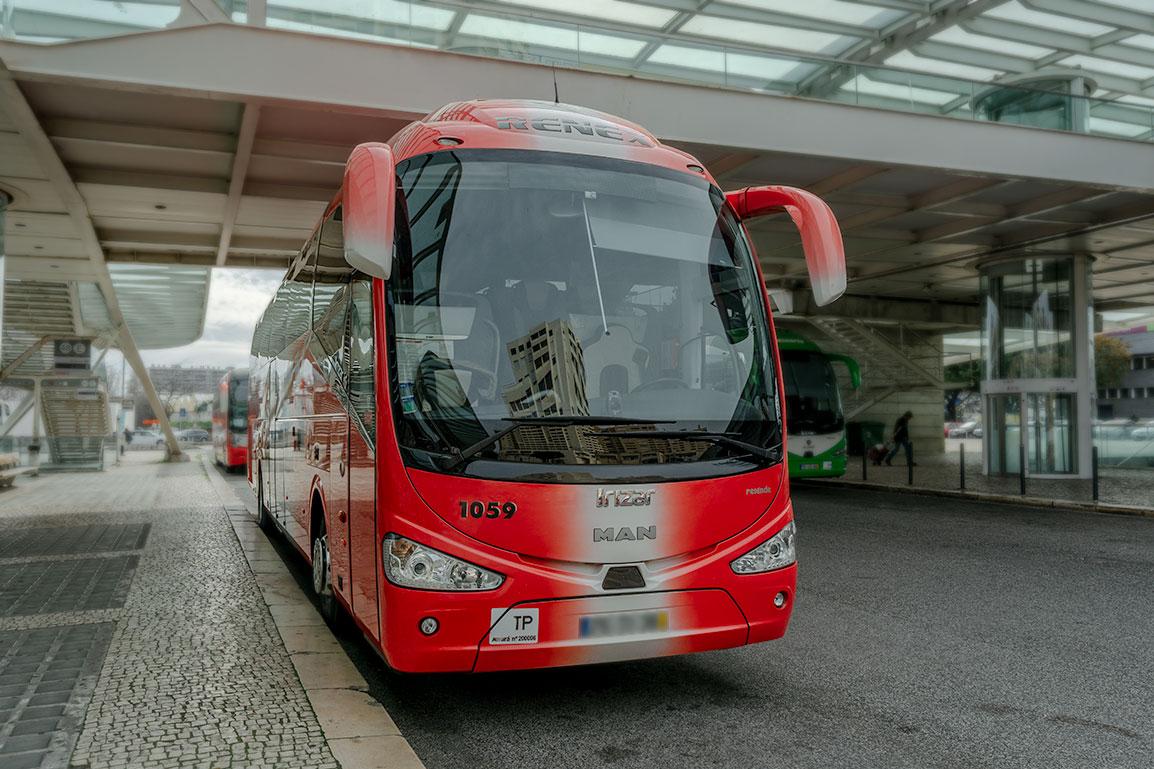 Ir de Lisboa ao Porto de Camioneta