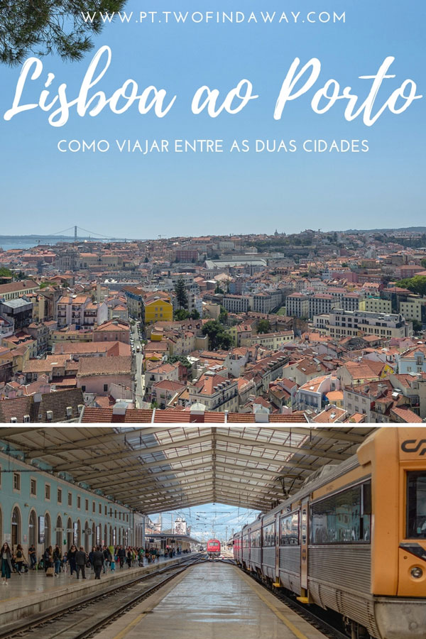 Existem muitas formas de ir de Lisboa ao Porto. Neste artigo analisamos e comparamos cada uma delas para que perceba qual a certa para si.