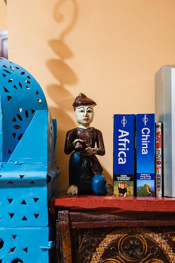 Decorações no apartamento Dar Digital Nomad