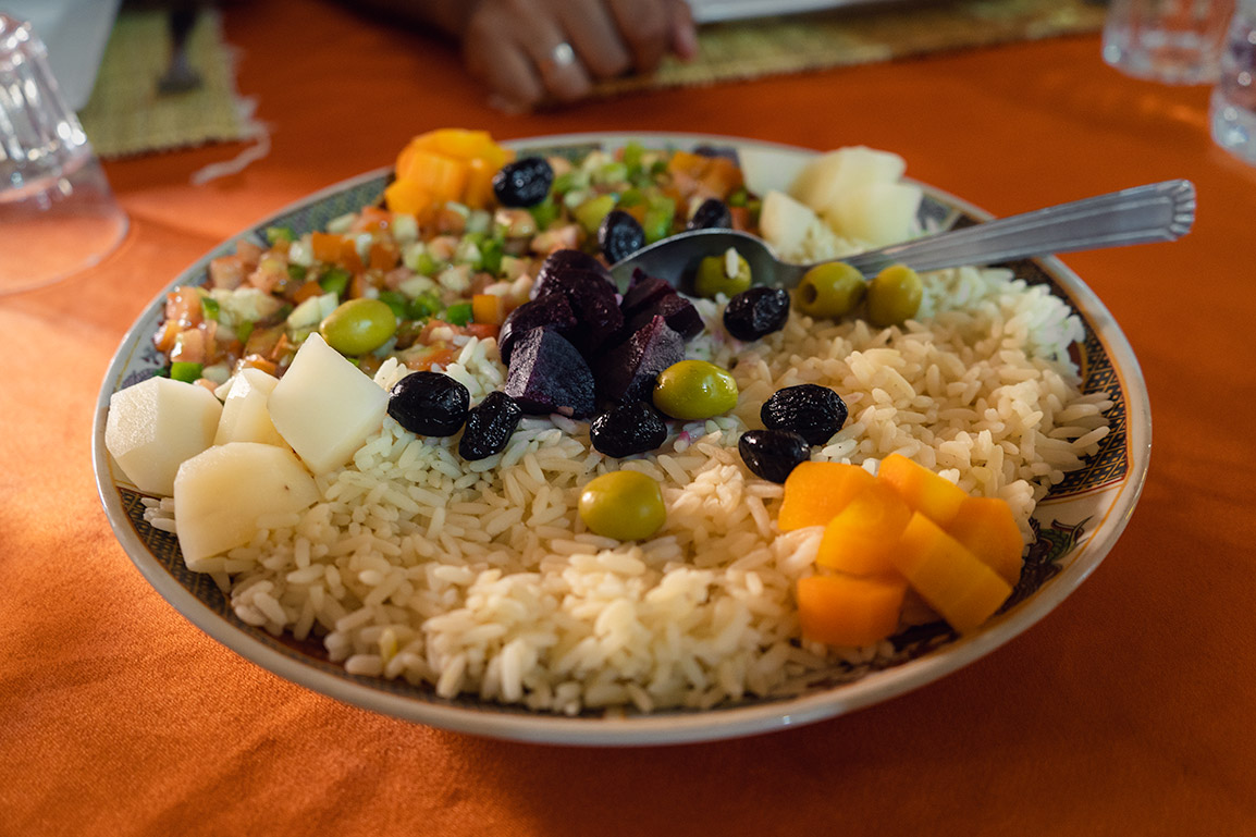 Salada tradicional marroquina