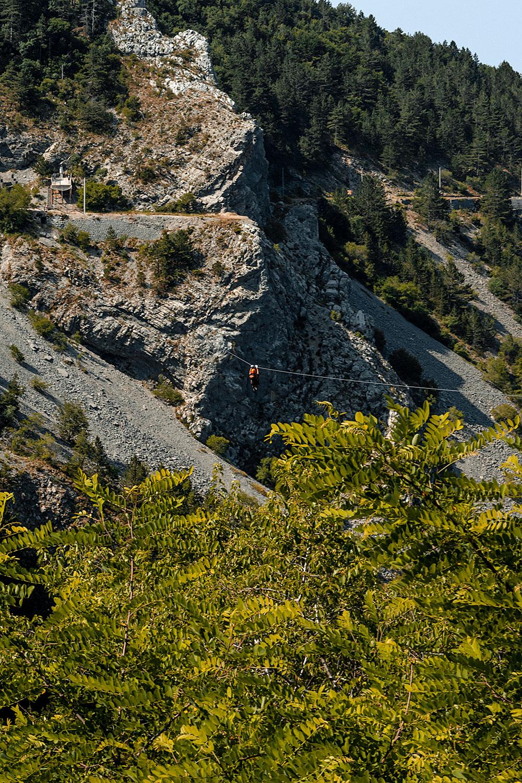 No Montenegro é possível realizar desportos de aventura nos seus parques naturais