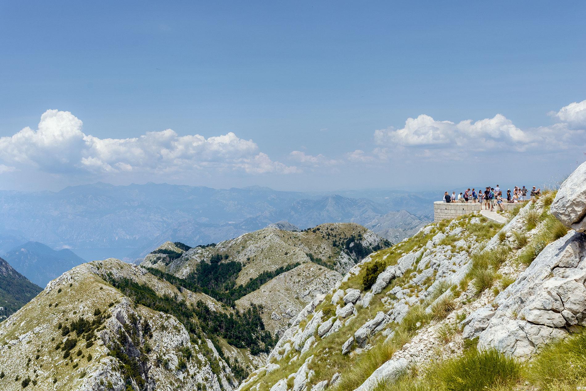 O Parque de Lovcen é uma das principais atrações naturais a não perder no Montenegro