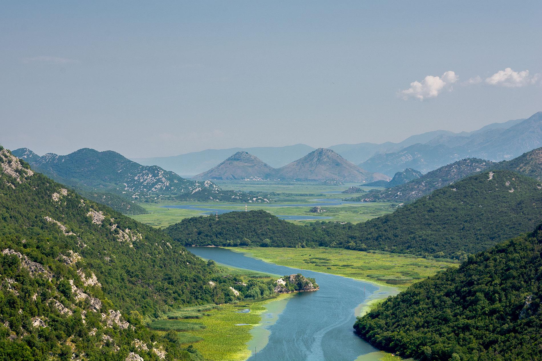 O Lago de Skadar é uma das mais belas atrações do Montenegro