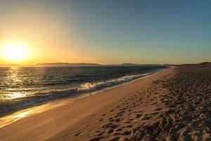 Pôr do sol na Praia da Comporta