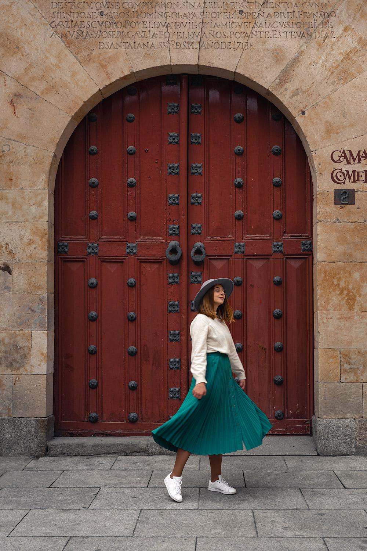 A dançar por Salamanca, em Espanha
