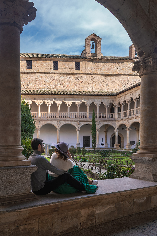 Convento de las Duenas em Salamanca, Espanha