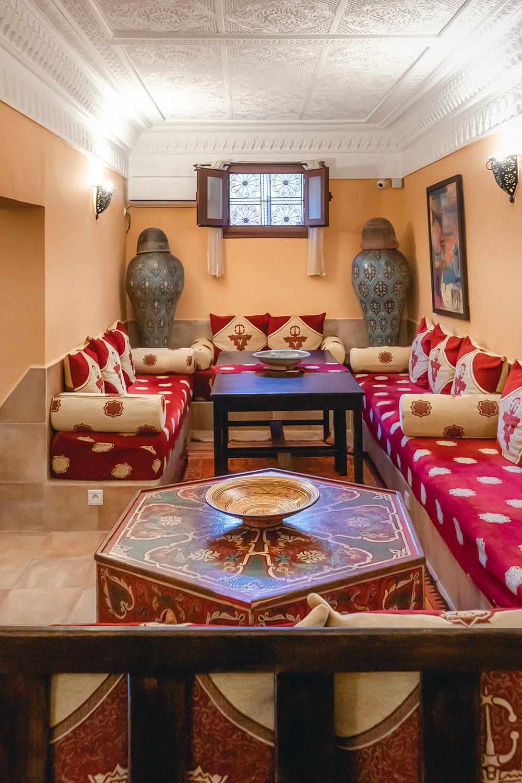 Sala partilhada no alojamento Dar Rita em Ouarzazate, Marrocos