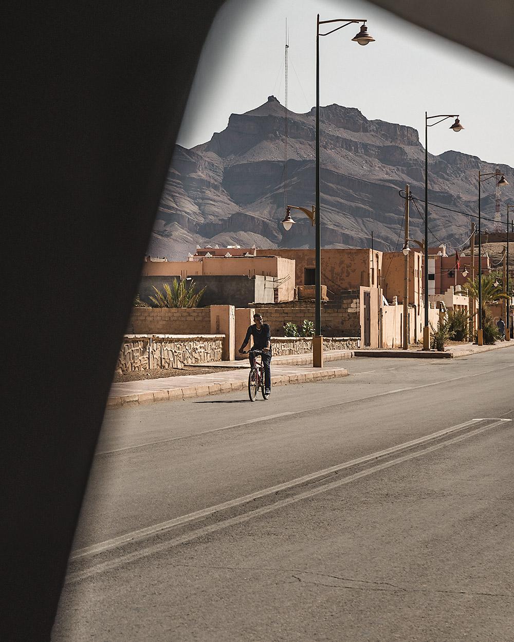Um momento único ao longo do nosso roteiro para o deserto em Marrocos
