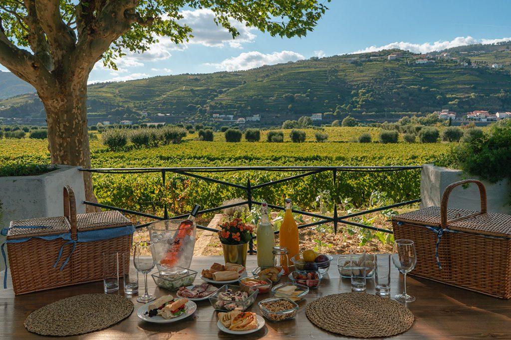 Um delicioso picnic na Quinta da Pacheca no Vale do Douro