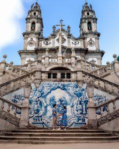 O Santuário de Lamego é um dos lugares a visitar no Douro